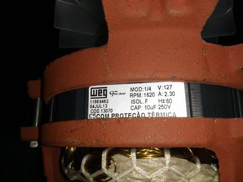 Motor Centrifuga De Roupas Fischer Spin 127v  - HL SERVICE