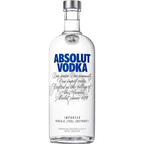 Vodka Importada Absolut - Original - 1l