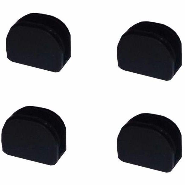 Borracha Pezinho da Trempe Cooktop Fischer - (pacote com 4 unidades)