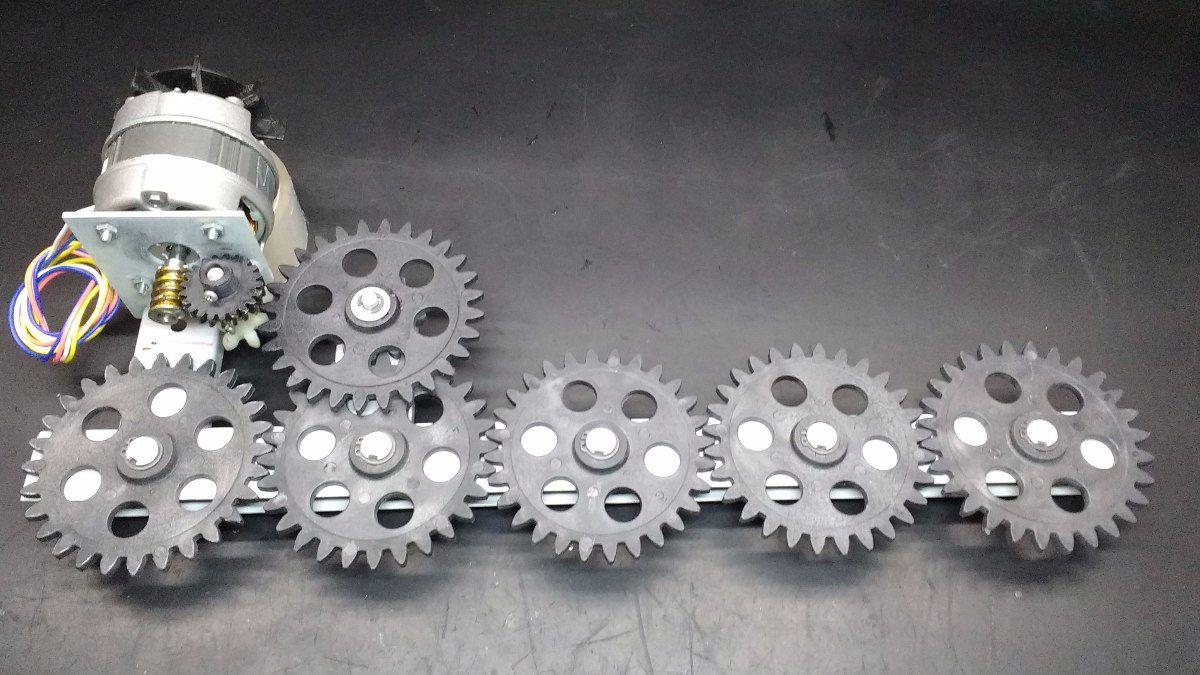 Conjunto Engrenagens Com Motor P/ Churrasqueira Arke