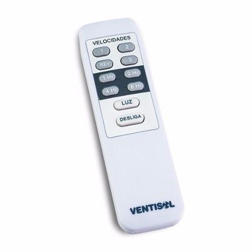 Controle Remoto Ventilador Teto Ventisol Original