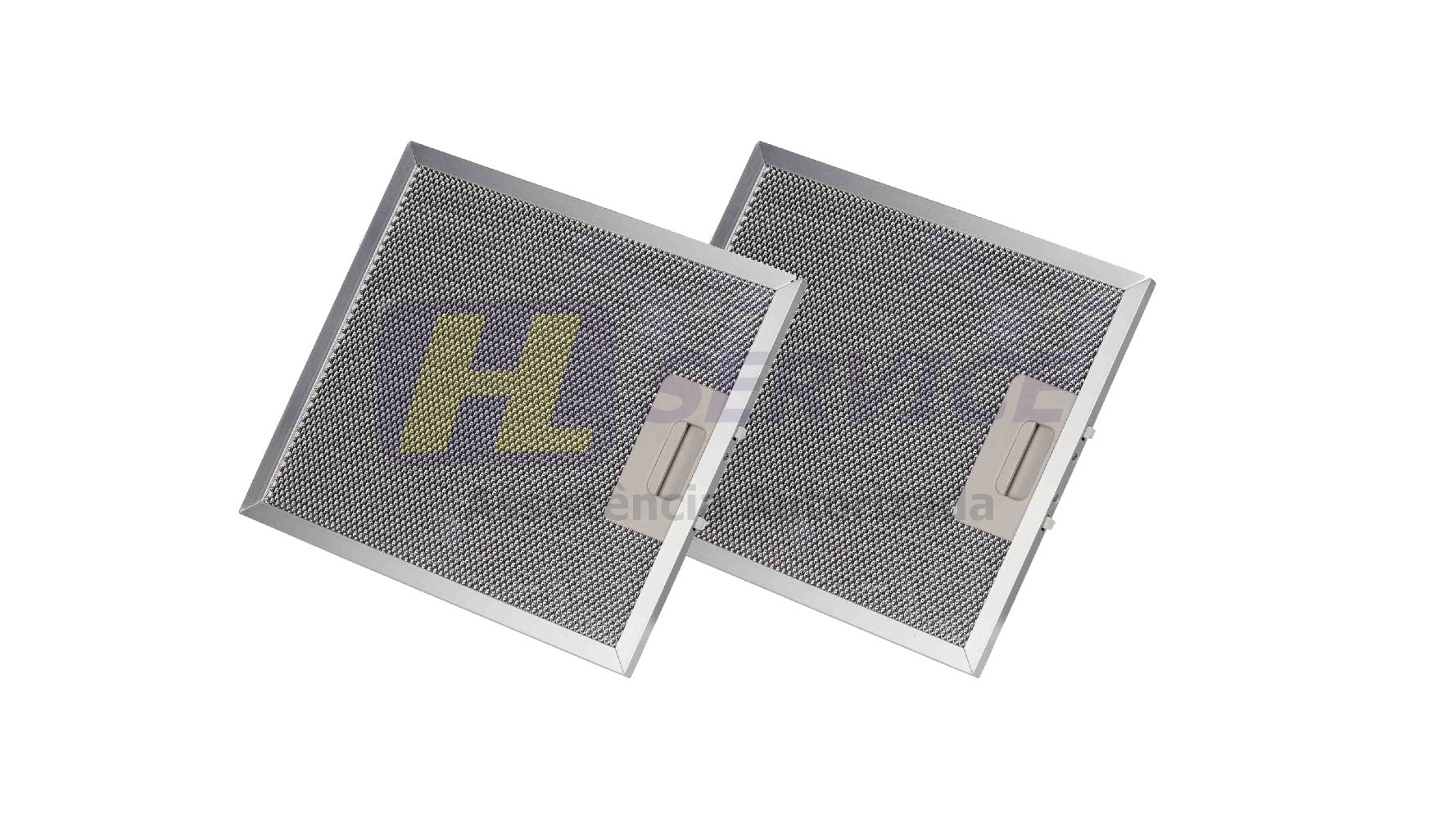 Filtro Alumínio Coifa Cata | 26 X 32 Cm | 2 Peças