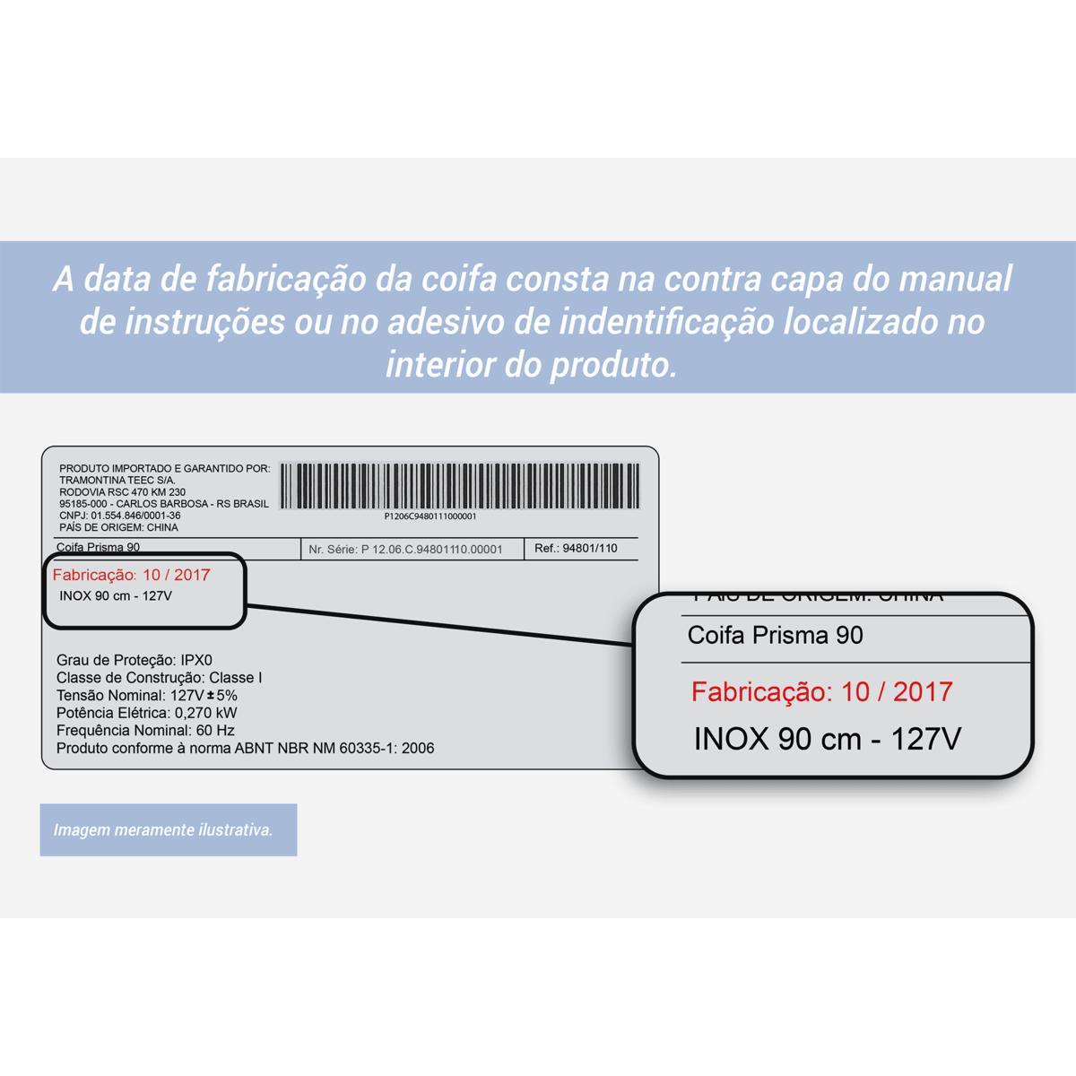 Filtro De Carvão Para Coifa Tramontina 02 un.