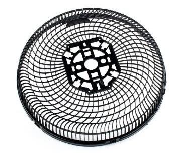 Grade Traseira Ventilador Cadence 30cm para Ventilador de 30cm Preto