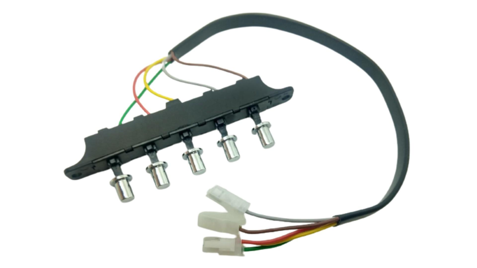 Interruptor 5 comandos Depurador SLIM  3 Velocidades Suggar c/ Cabos