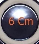 Kit 05 Grelha Trempe + 5 Espalha Chamas + 5 Difusor Tripla Chama
