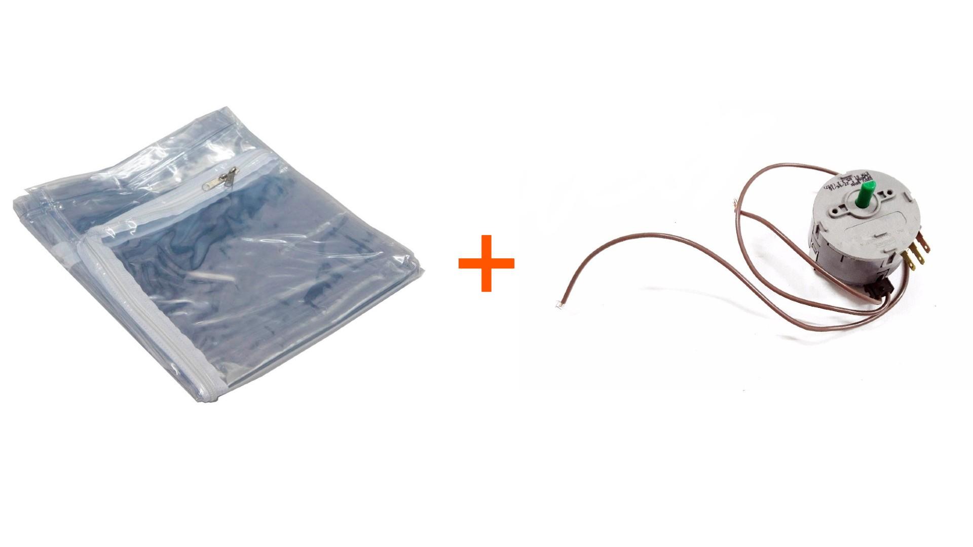 Kit Saco Secadora Amiga Fischer + Temporizador