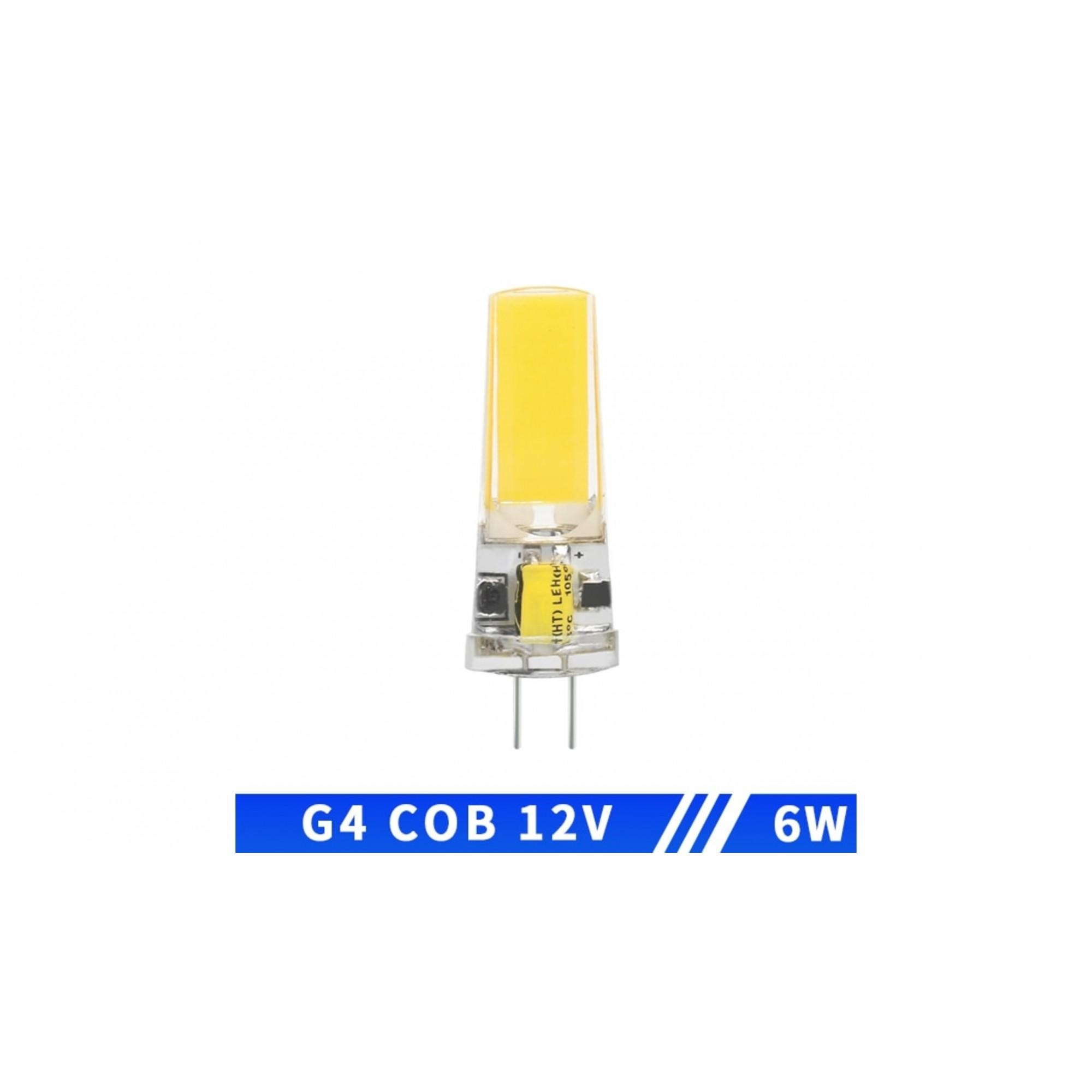 Lâmpada Led Coifa e Lustre G4 12v 6w Dimerizável