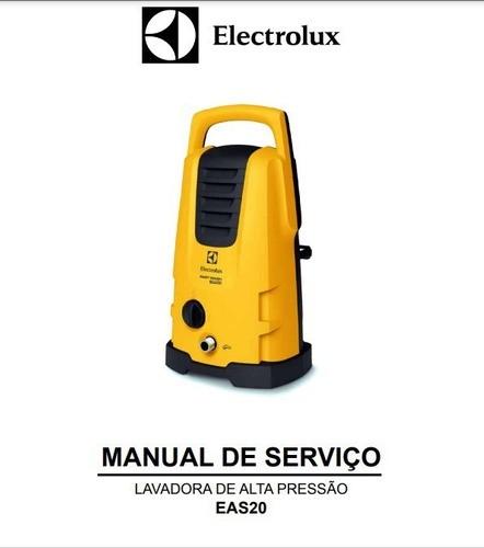 Manual de Serviço Lavadora de Alta Pressão EAS20 EASYWASH