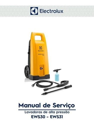 Manual de Serviços Lavadora de Alta Pressão EWS30 / EWS31 Power Wash