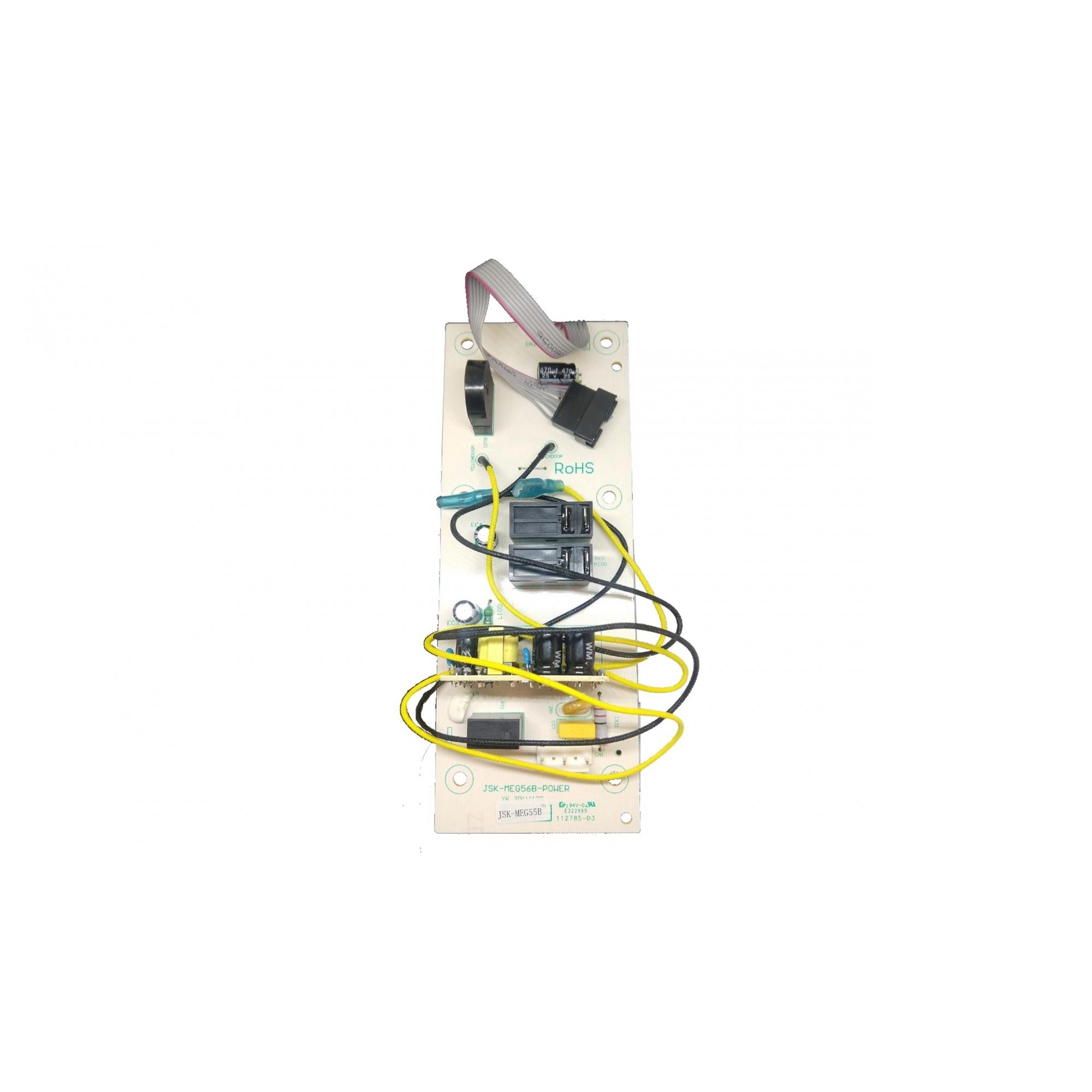 Placa Principal Microondas Fischer Prime Infinity  Inox com Dourador