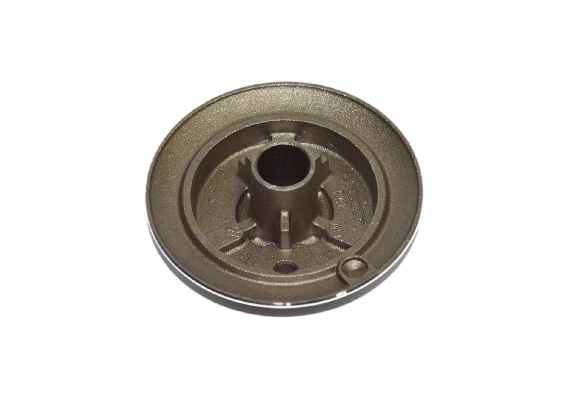 Queimador Fogão Cooktop Fischer Auxiliar 4,5 Cm C/ Aba