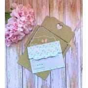 Molde envelope aba decorada