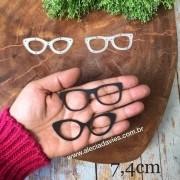 Óculos florescer  7,5X2,5cm