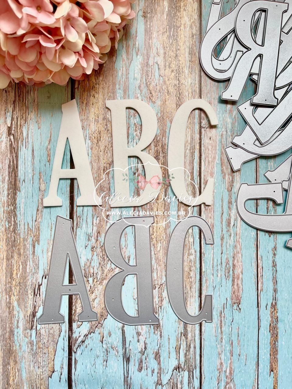 alfabeto 10cm