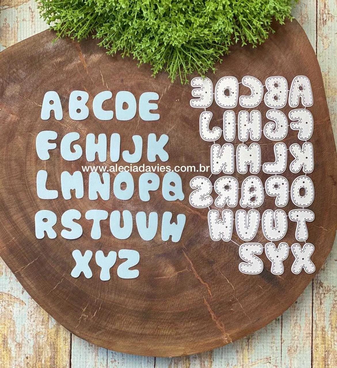 Alfabeto costurinha