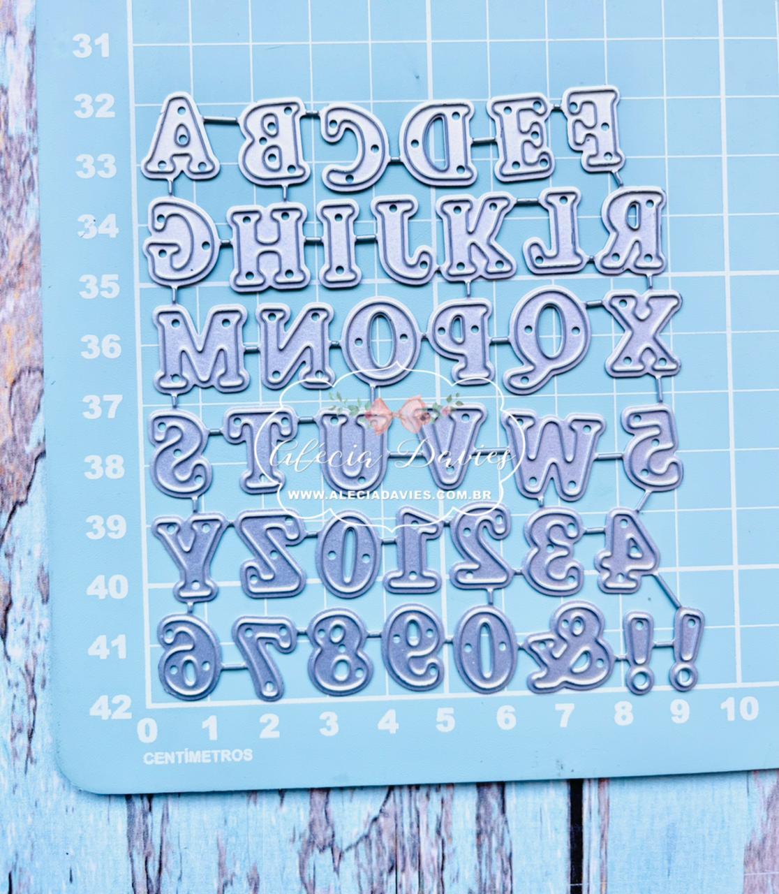 Alfabeto Com Números