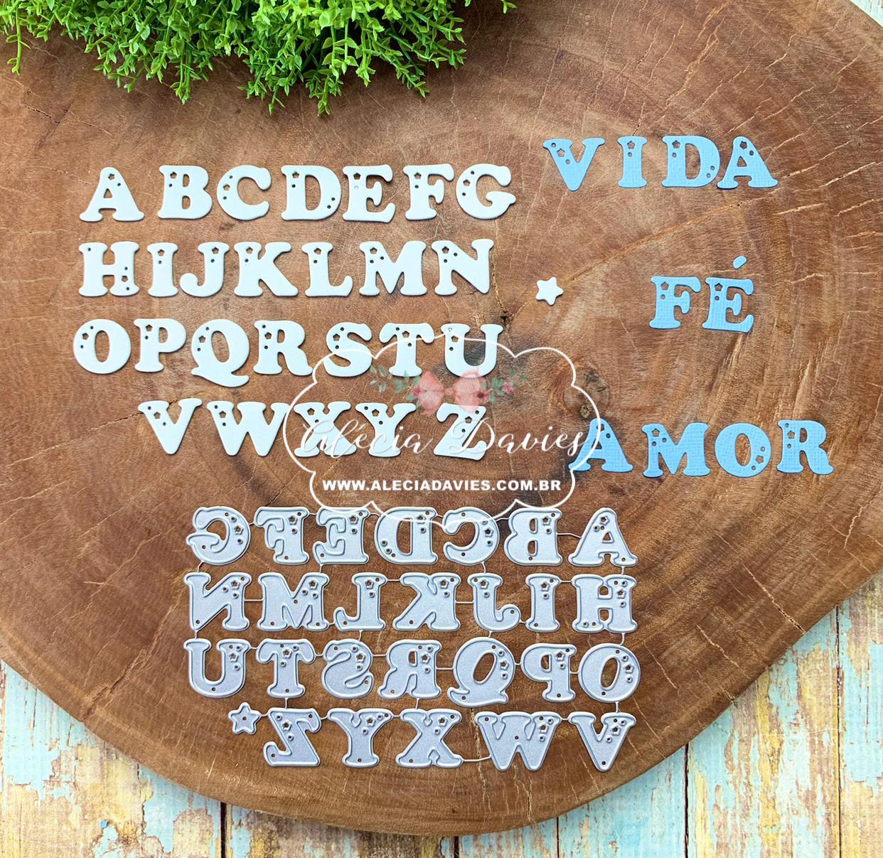 alfabeto furadinho