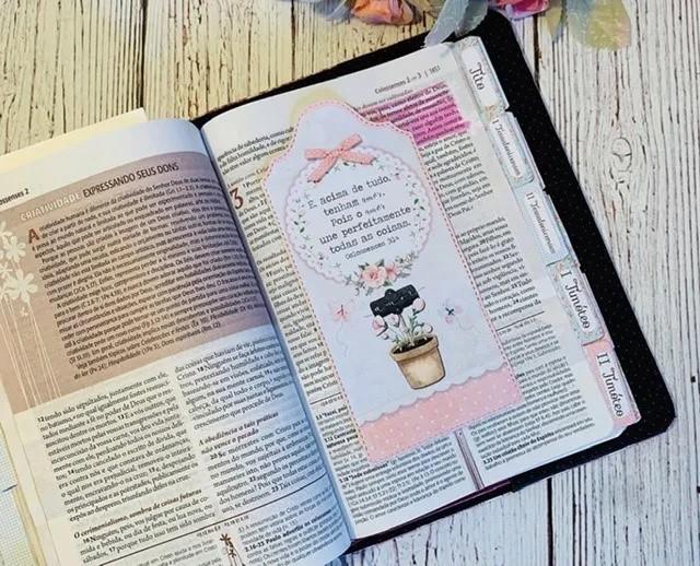 ARTE BÍBLIA DECORADA - CATÓLICA