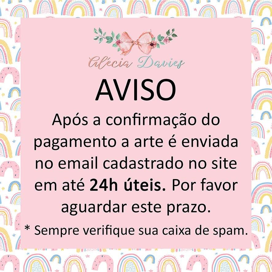 ARTE CALENDÁRIO RENA ROSA