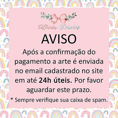 ARTE CARTÃO JOANINHA FOFUXA