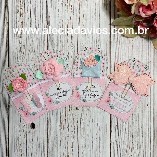 ARTE PORTA CLIPS JARDIM - TAG RETA
