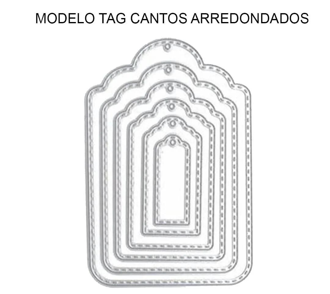 ARTE TAG PARA EMBALAGENS CRAFT - COMPATÍVEL COM TAG CANTOS AREEDONDADOS