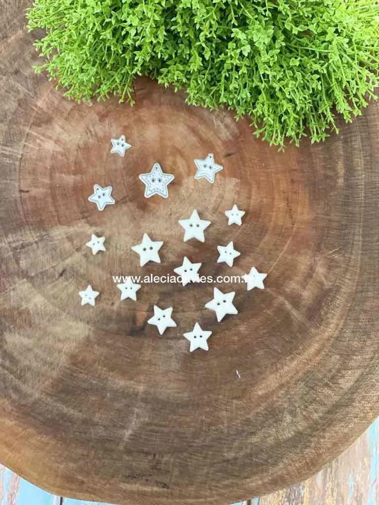 botões estrela