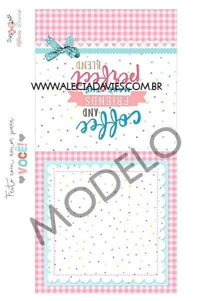 ARTE  XÍCARA CANECA FOFA  (com cartão)