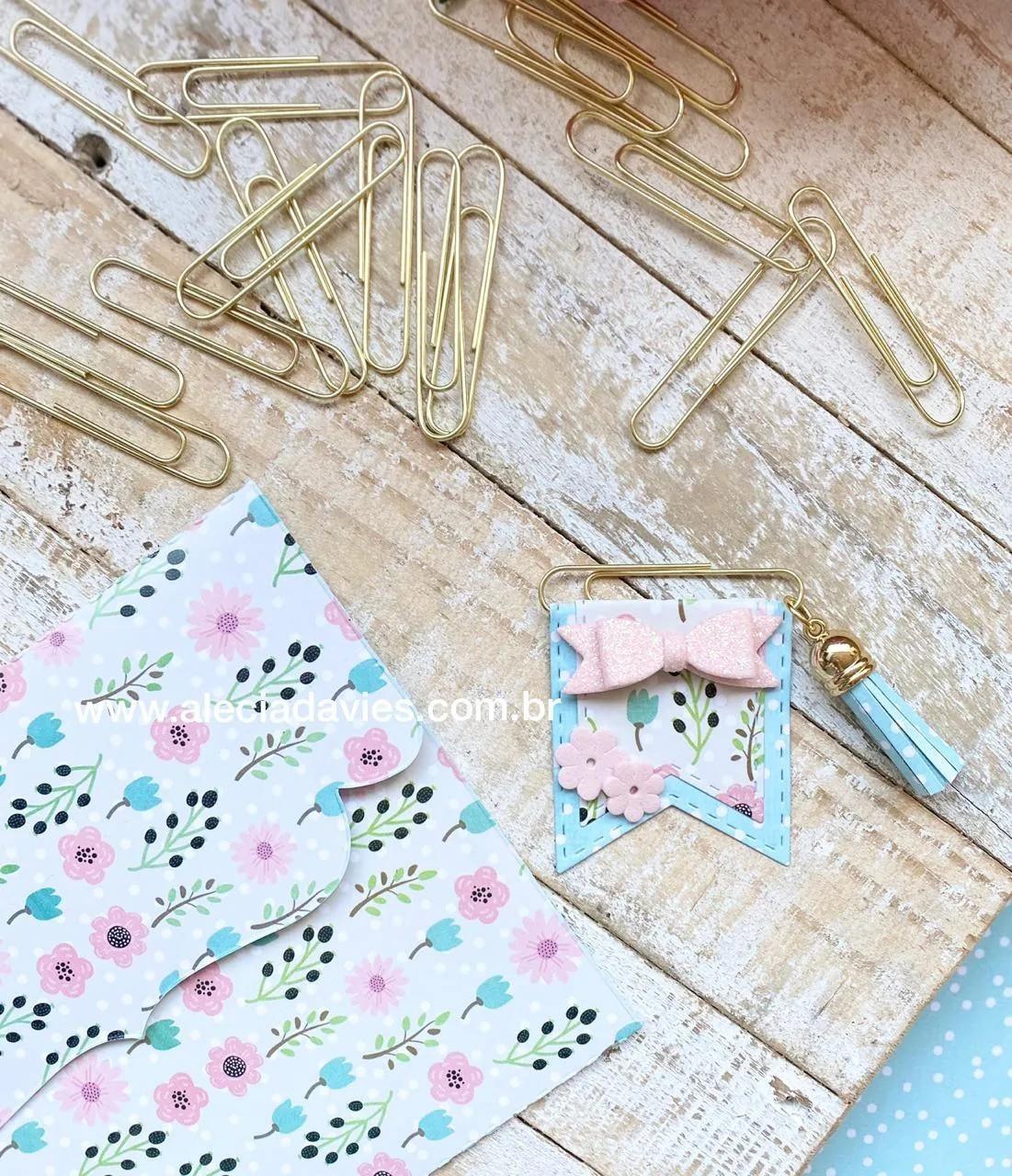 clips dourado (longo)