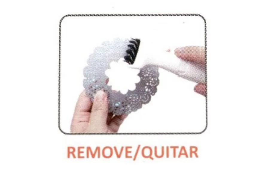 INATIVAescova giratória para limpar faquinhas