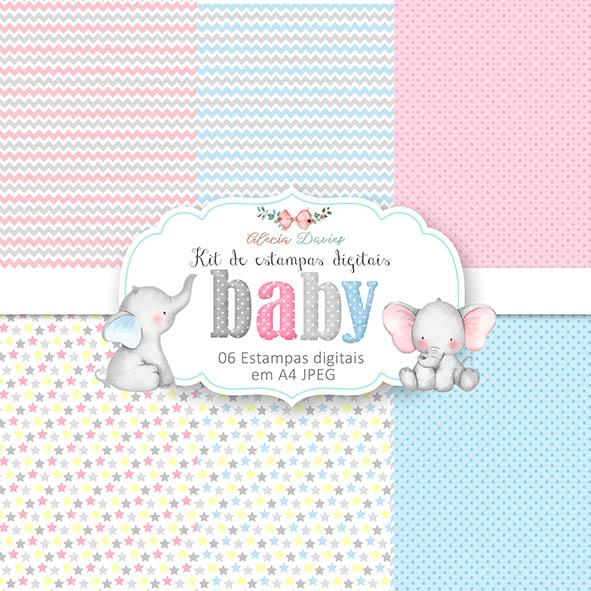 KIT DIGITAL ESTAMPAS BABY (SOMENTE ARTE DIGITAL)