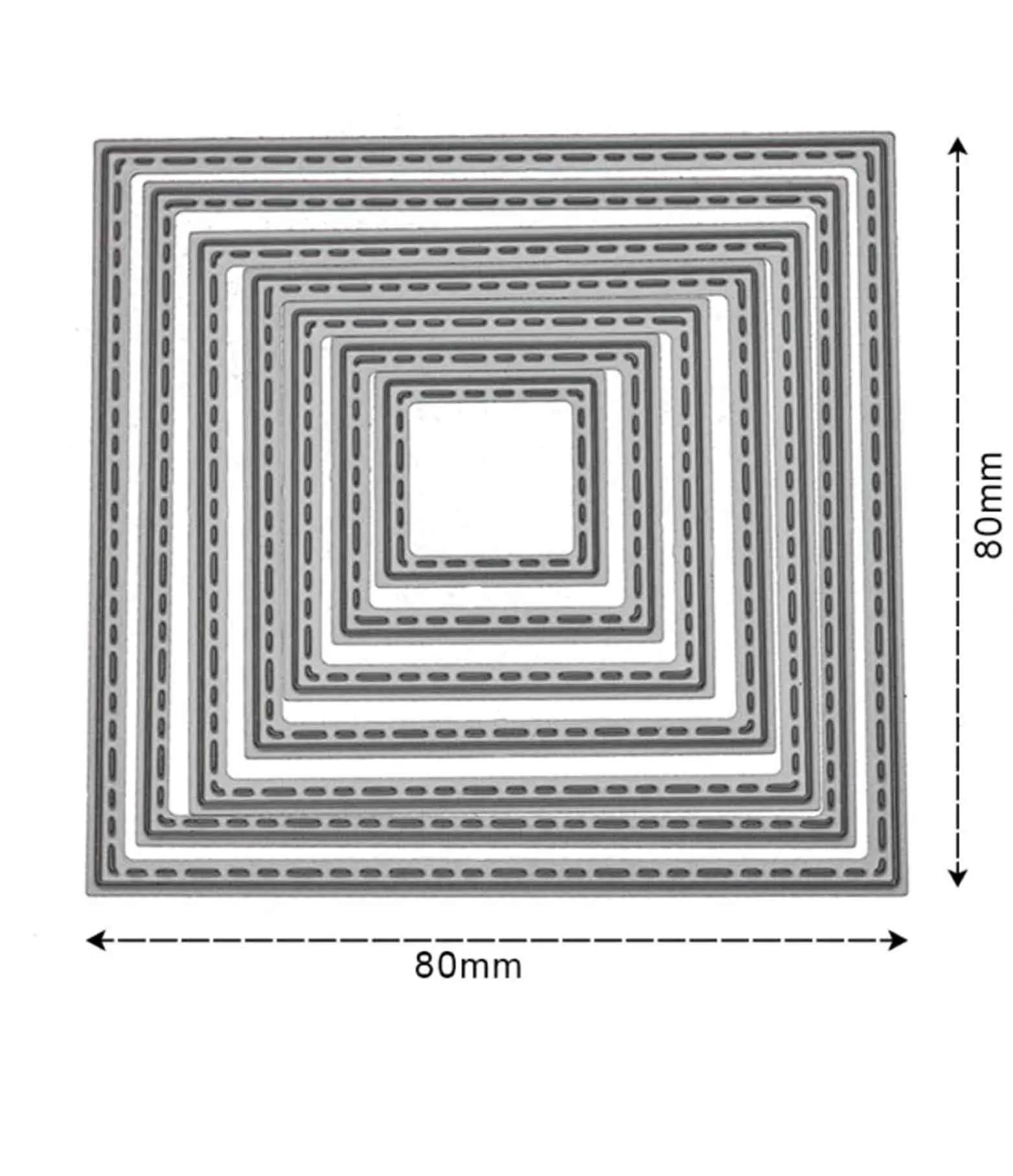 quadrados com detalhes em costurinha