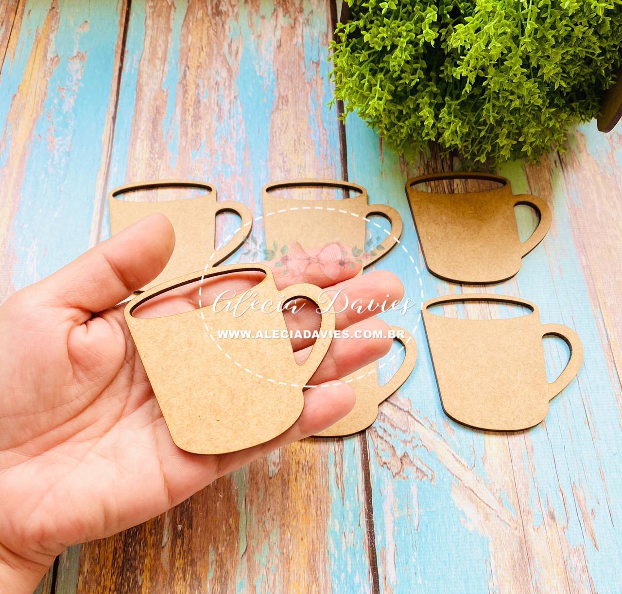 recorte xícara caneca de café