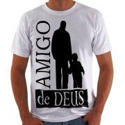 Camisa Personalizada Amigo de Deus