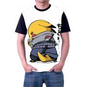Camisa Personalizada Anime Pickachu Ninja Pokemon