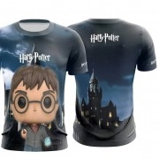 Camisa personalizada Harry Potter Personagens
