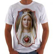 Camisa Personalizada Virgem de Fátima