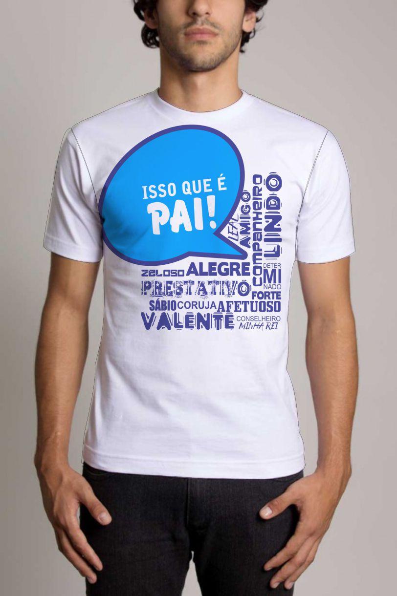 Camisa Personalizada Dia dos Pais 3