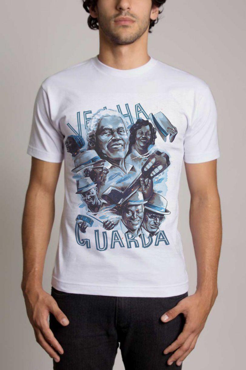 Camisa Personalizada Escola de Samba Portela Velha Guarda