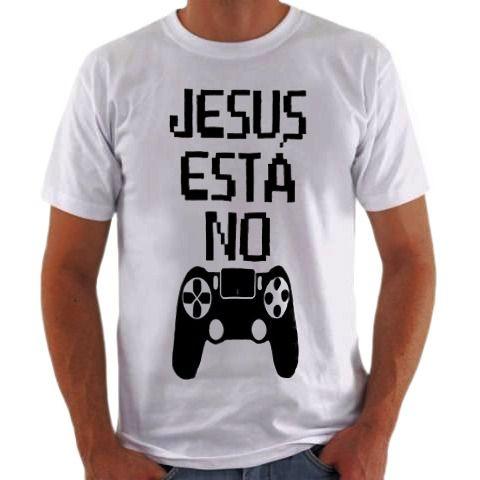 Camisa Personalizada Jesus está no controle