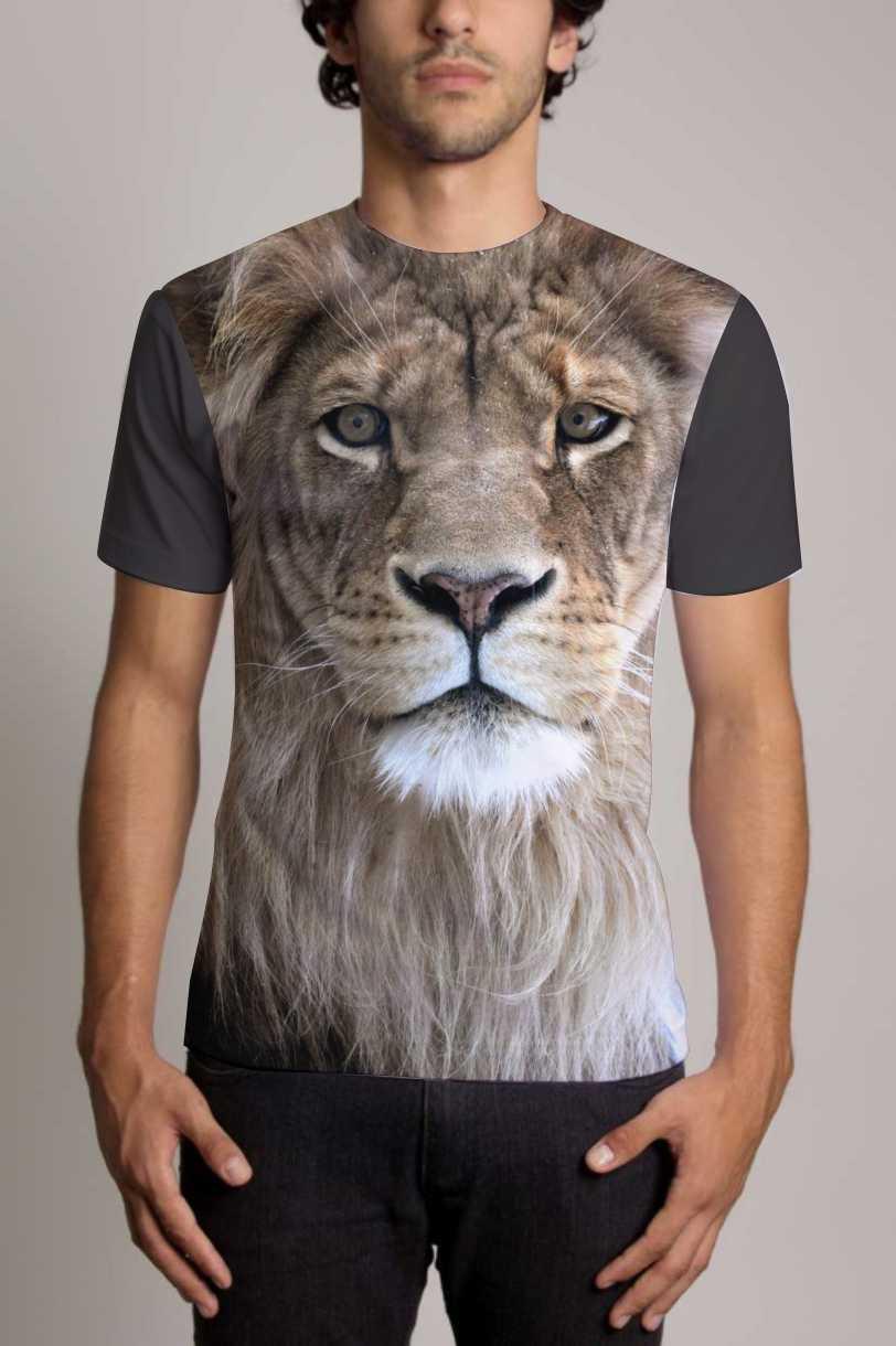 Camisa Personalizada Leão 1