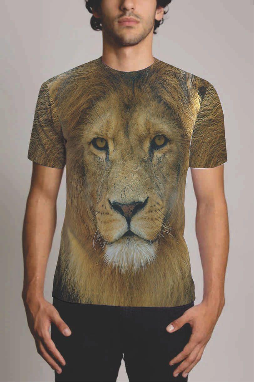 Camisa Personalizada Leão 2