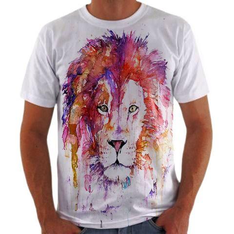 Camisa Personalizada Leão 5