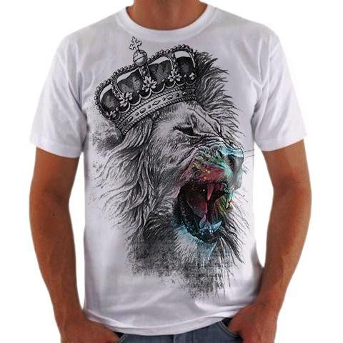 Camisa Personalizada Leão 9
