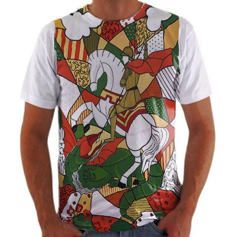 Camisa Personalizada Mosaico São Jorge