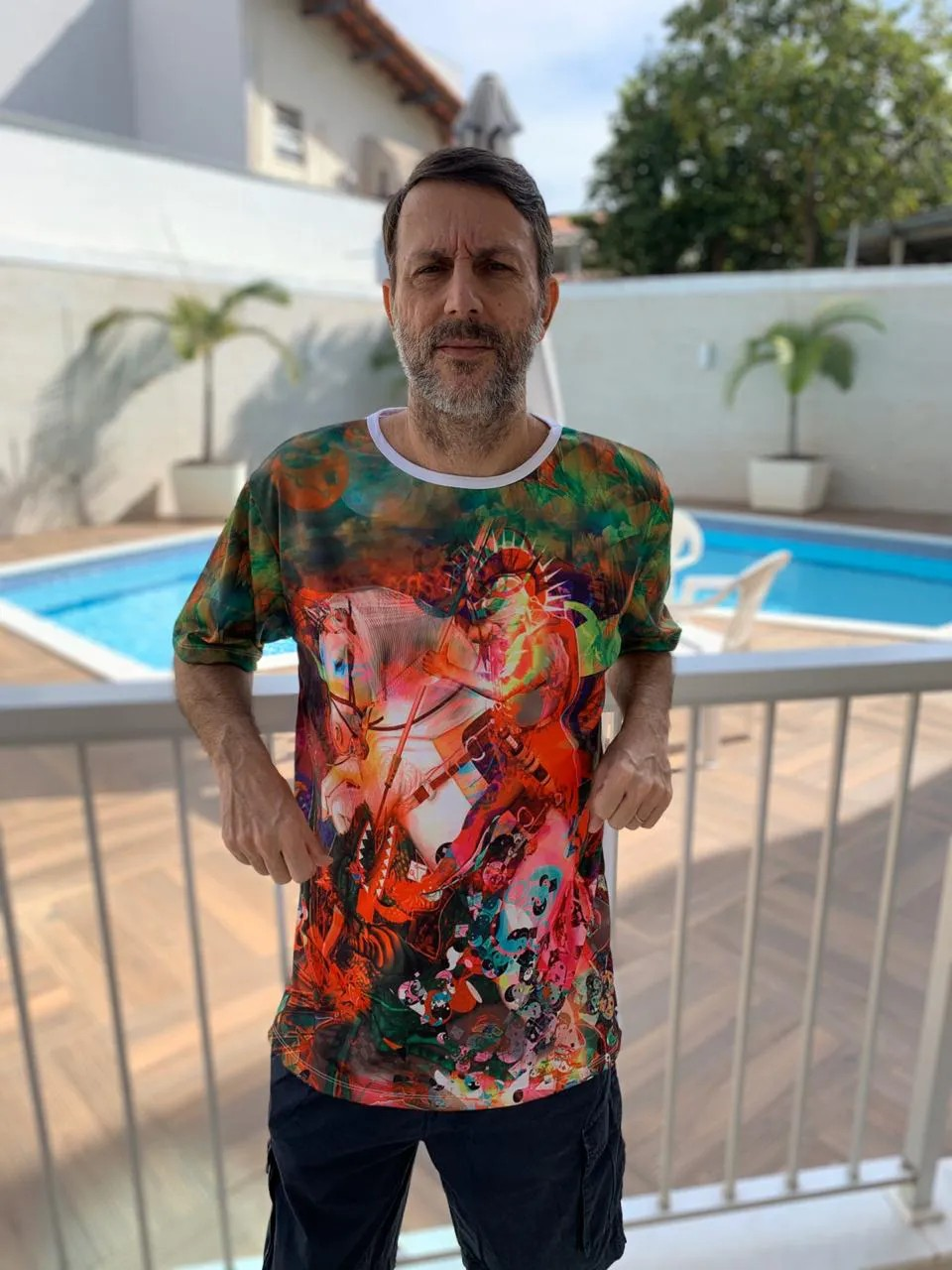 Camisa Personalizada São Jorge Pintado