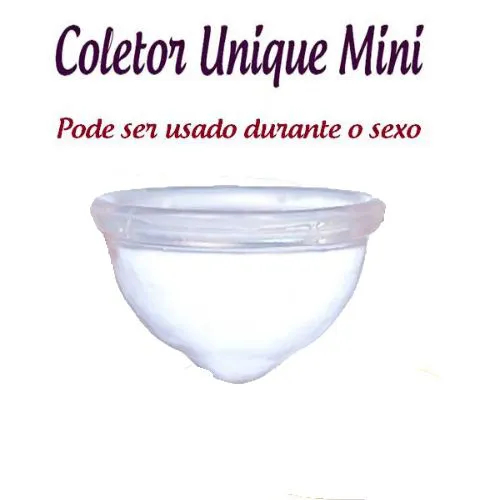 Coletor Menstrual UNIQUE MINI 30ml + Porta Coletor