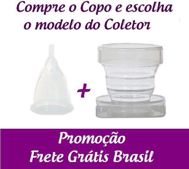 Kit Copo + Coletor