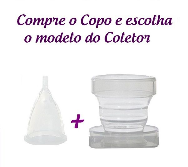 Kit Copo + Coletor